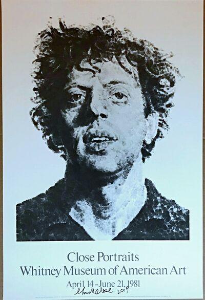 Chuck Close, 'Close Portraits (Hand signed)', 1981