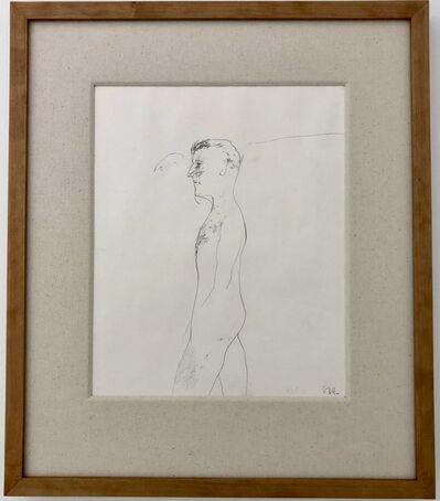 David Hockney, ''Untitled' Study for Jungle Boy', ca. 1964