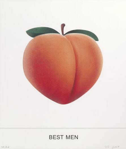 John Baldessari, 'BEST MEN ', 2018
