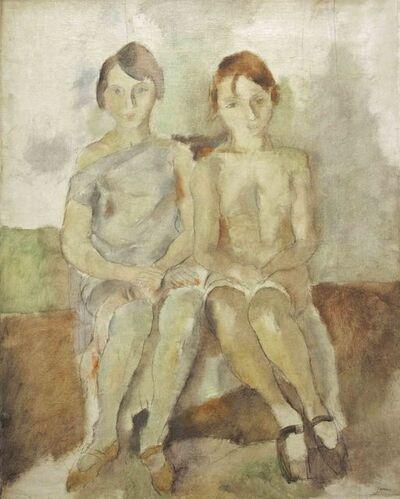 Jules Pascin, 'Deux Danseuses du Chatelet', 1926