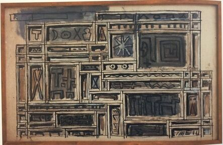 Augusto Torres, 'Project for constructive mural / Proyecto para mural constructivo', 1976