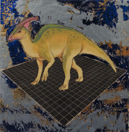 Alexis Kandra, 'Cretaceous Parasaurolophus', 2019