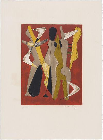 Man Ray, 'Promenade (Anselmino 14)', 1965
