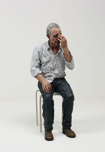 Sean Henry, 'Untitled (Man on a stool)', 2010