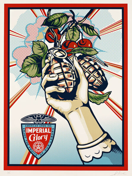 Shepard Fairey, 'Imperial Glory', 2012