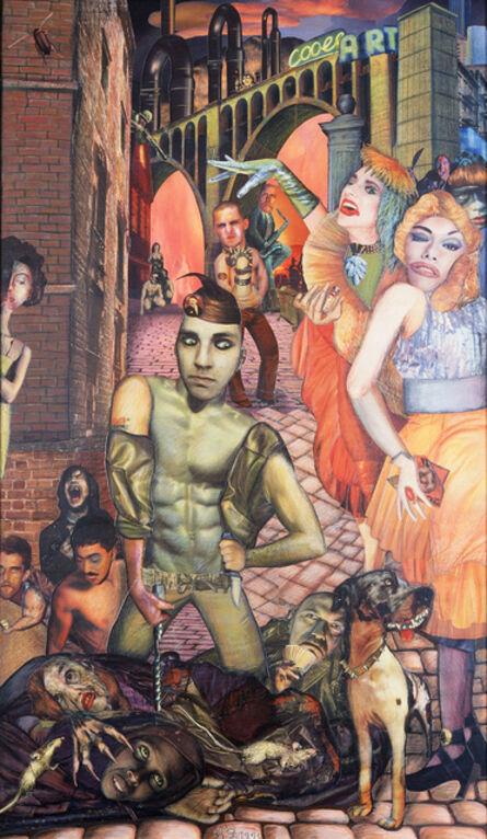 Nana Ohnesorge, 'Big City - Homage to Otto Dix 1', 1993