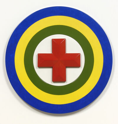 Walter Robinson, 'Red Cross Purpose', 2008