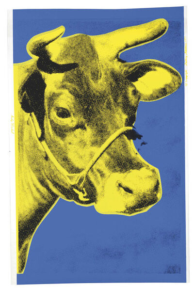 Andy Warhol, 'Cow, Blue and Yellow (FS II.12)', 1971