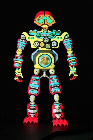 Peter Sarkisian, 'VideoMorphic Figure (Robot 6 v 2)', 2013