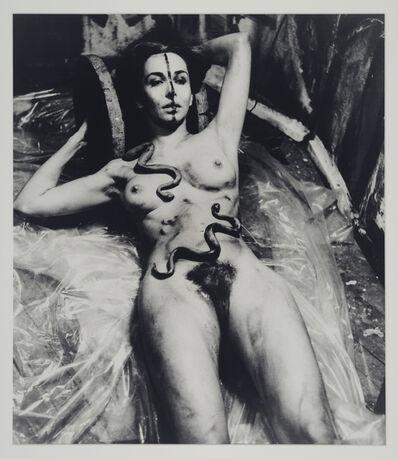 Carolee Schneemann, 'Eye Body 5', 1963