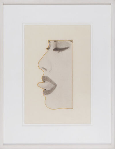 Tom Wesselmann, 'Cutout Drawing for Face #2', 1967