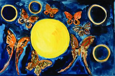 Hunt Slonem, 'Madagaskan (Shiva)-A', 2012