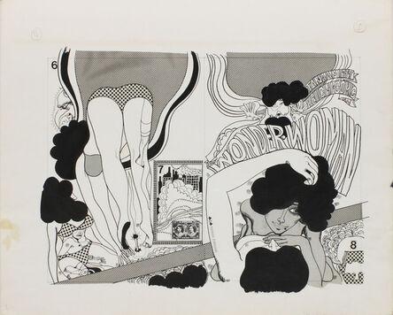 Keiichi Tanaami, 'Wonder Woman_03', 1967