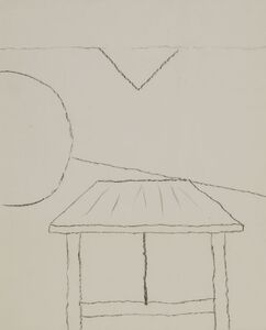 Kenneth Rowntree, 'ABSTRACT WITH TABLE'