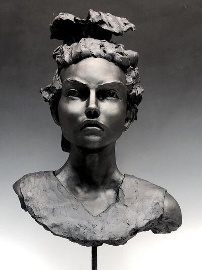 BOB CLYATT, 'Woman's Head- Green Day', 2019
