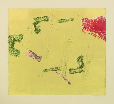 Susan Rothenberg, 'High Desert', 2006