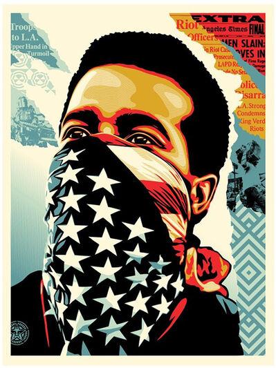 Shepard Fairey, 'American Rage - Offset Lithograph', 2020