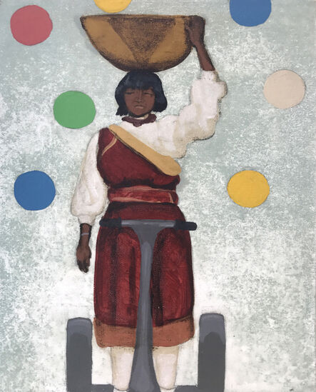 Frank Buffalo Hyde, 'Segway Native I', 2011