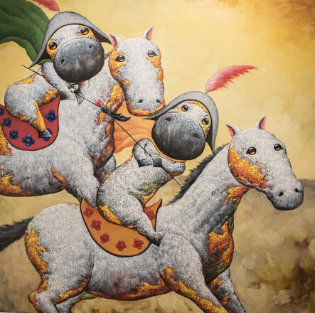 Wang Zhi Wu, 'Victorious II 凯旋归来 II ', 2015