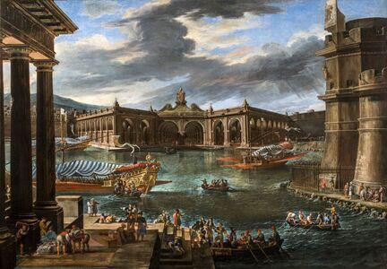Viviano Codazzi, 'The Arsenal of Civitavecchia', 1668