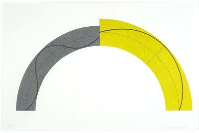 Robert Mangold (b.1937), 'Divided Arc', 2010