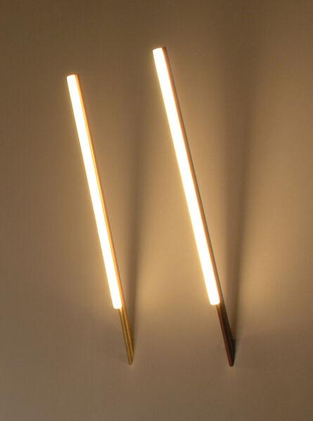 Michael Anastassiades, 'Lit lines, Wall mounted', 2012