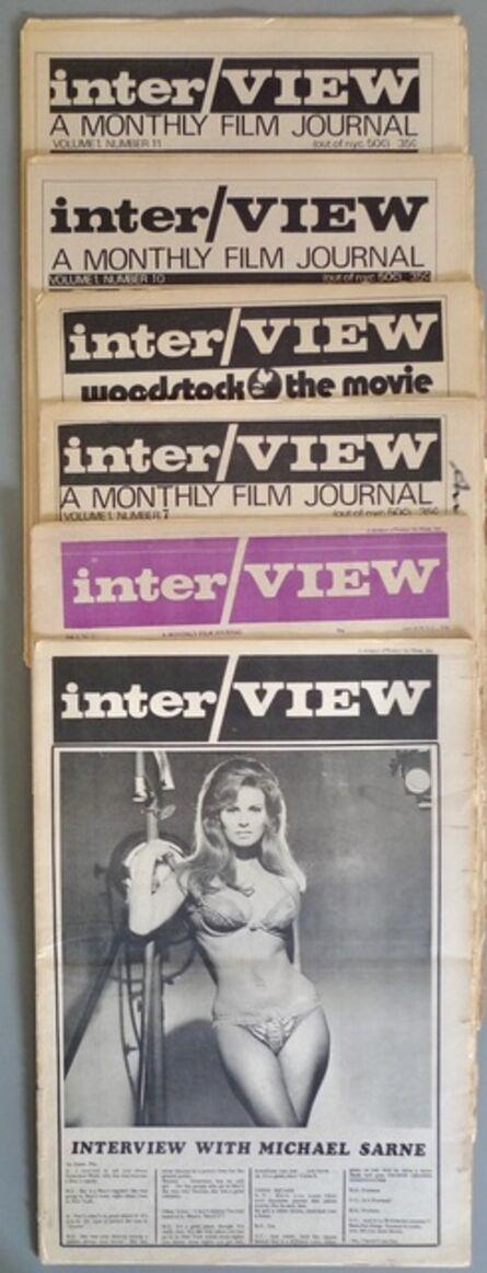 Andy Warhol, 'Interview Magazine Volume 1', 1969-1970