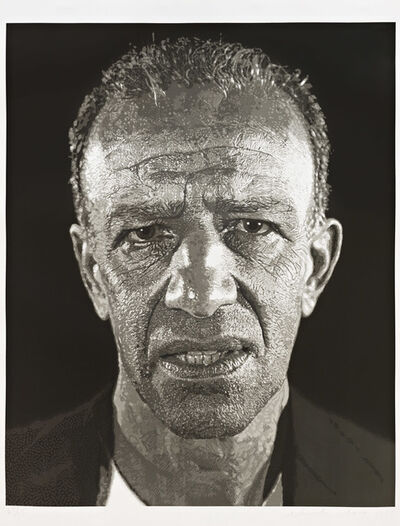 Chuck Close, 'Alex/Reduction Print', 1993