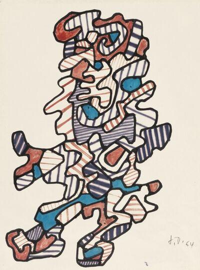 Jean Dubuffet, 'Personnages XXIII', 1964