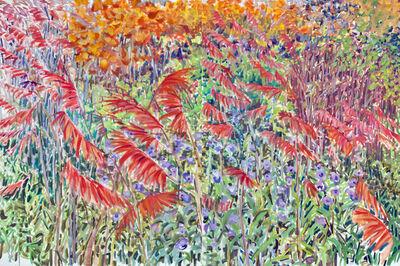 Regina Silvers, 'Red Sumac Diptych', 2004