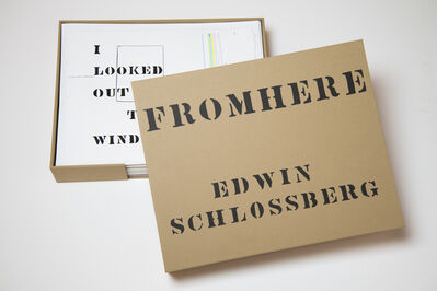 Edwin Schlossberg, 'From Here', 2013
