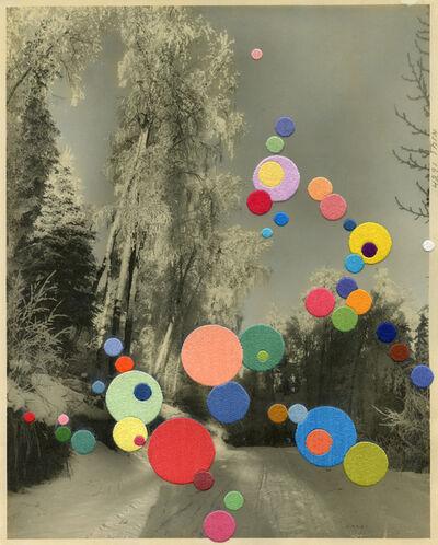 Julie Cockburn, 'Snow Song', 2020