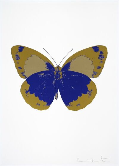 Damien Hirst, 'The Souls I (Westminster Blue and Oriental Gold) (OC7800/659-63) ', 2010