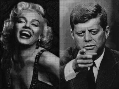 Alex Guofeng Cao, 'Marilyn vs JFK & JFK vs Marilyn', 2009