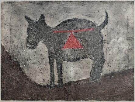 Rufino Tamayo, 'Perro Mueve', 1974