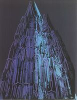 Andy Warhol, 'Koln Cathedral Blue', (Date unknown)
