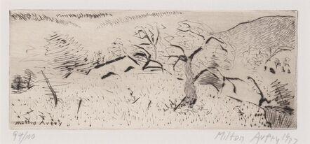 Milton Avery, 'Japanese Landscape (Lunn 15)', 1939