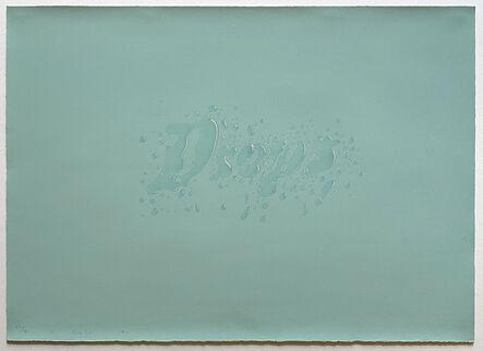 Ed Ruscha, 'Drops', 1971
