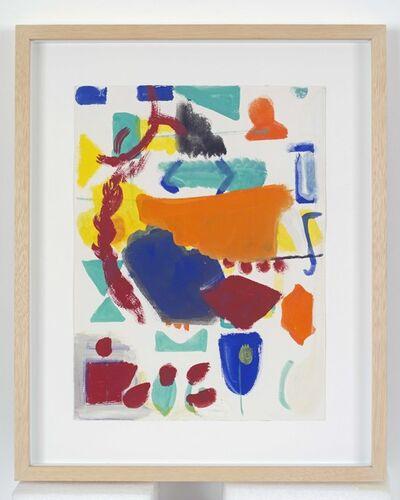 Shirley Jaffe, 'Untitled', ca. 1983-1984