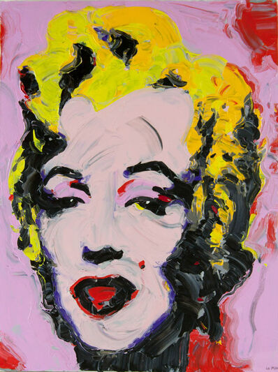 Philippe Le Miere, 'after andy warhol marilyn monroe', 2021