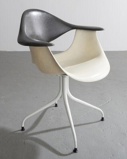 George Nelson & Associates, 'MAF Swag Leg Chair', Designed 1954