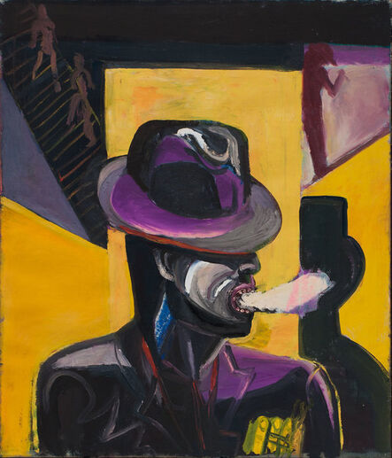 Klaus Killisch, 'Der Raucher', 1987