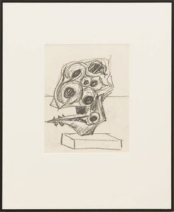 Seymour Lipton, 'Untitled Sculptural Study', ca. 1958