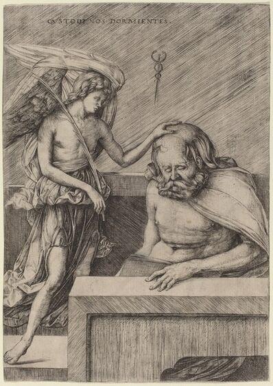 Jacopo de' Barbari, 'Custodi Nos Dormientes (The Guardian Angel)', ca. 1509