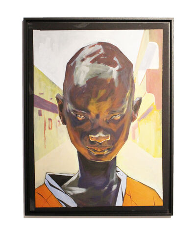 Rakajoo, 'Portrait Orange', 2019