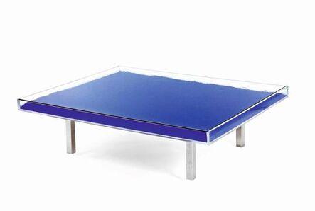 Yves Klein, 'Table bleue', 1963-2019
