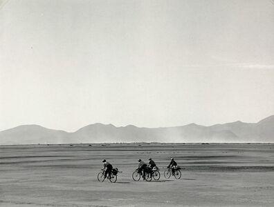 Manuel Álvarez Bravo, 'Bicycles on Sunday', 1966
