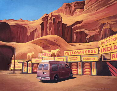 Mary Anne Erickson, 'Yellow Horse Trading Post, Route 66', 2016