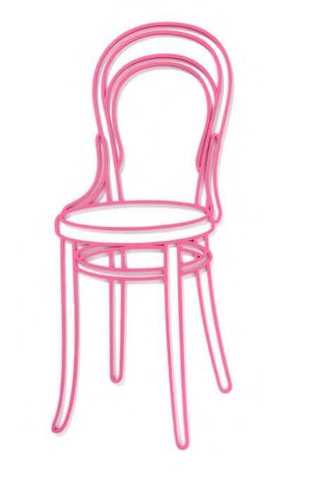 Michael Craig-Martin, 'Thonet Chair', 2019
