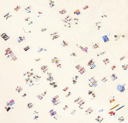 Joshua Jensen-Nagle, 'Sydney Sunbathers II'
